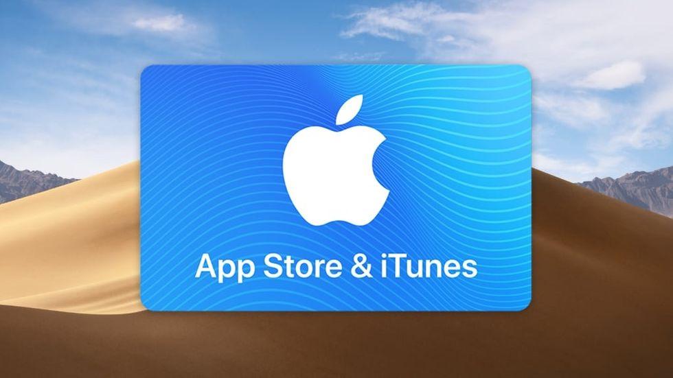 Bedrägeri med presentkort från App Store