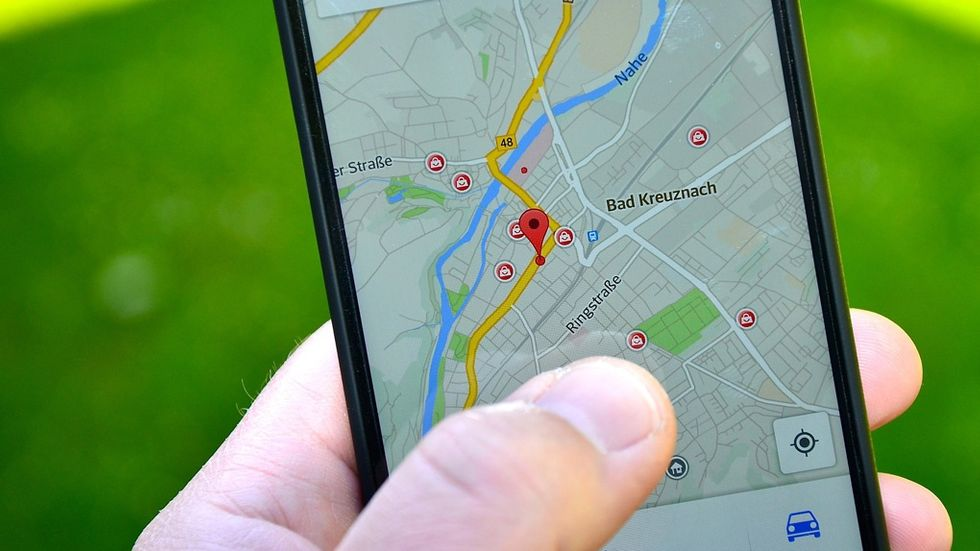 Google Maps - Visa plats