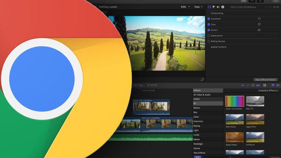 Chrome och Final Cut Pro X