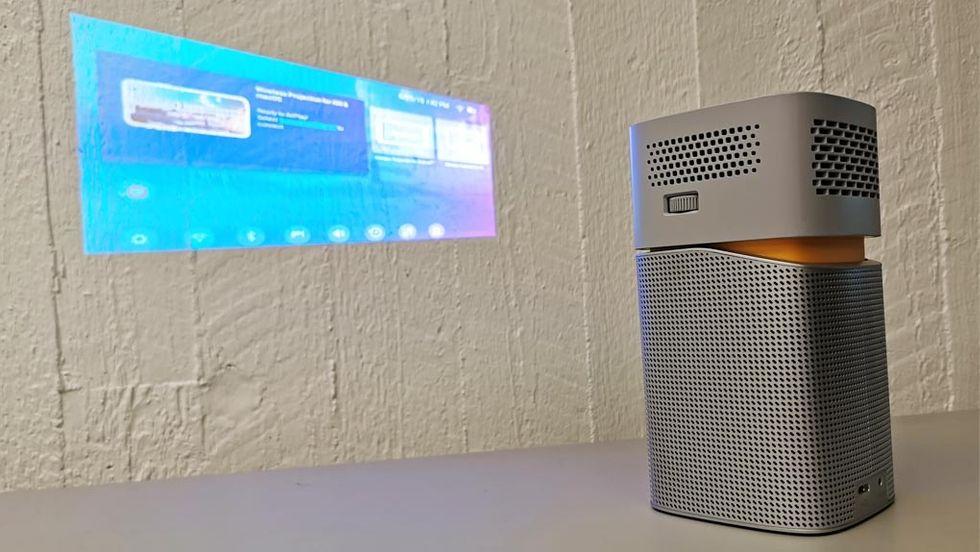 ansluta Epson-projektor till Mac