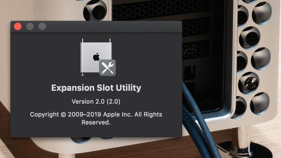 Expansion Slot Utility