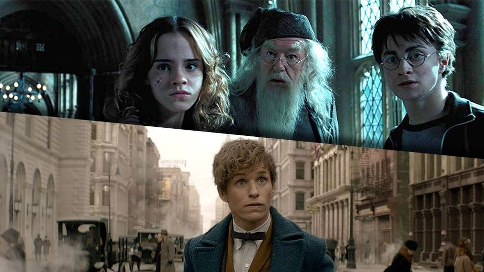 Streama Harry Potter