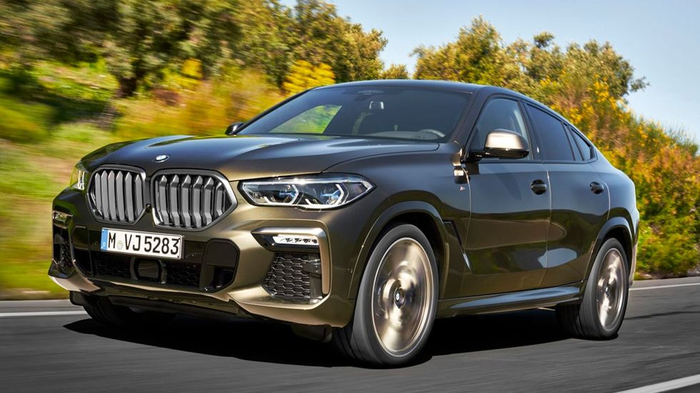 Nya BMW X6