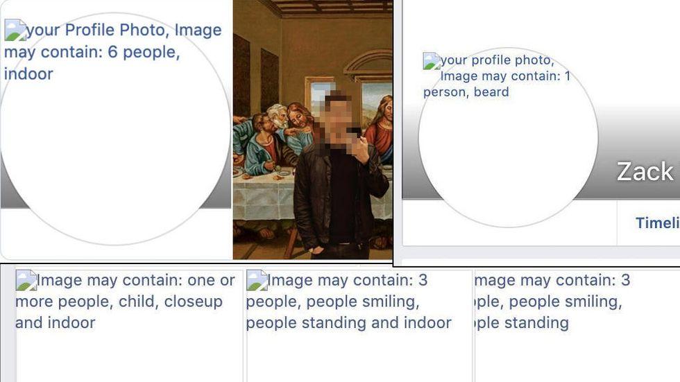 Facebooks automatiska taggar