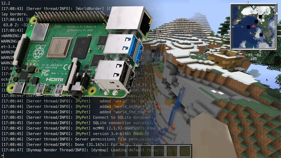 Minecraft-server på Raspberry Pi