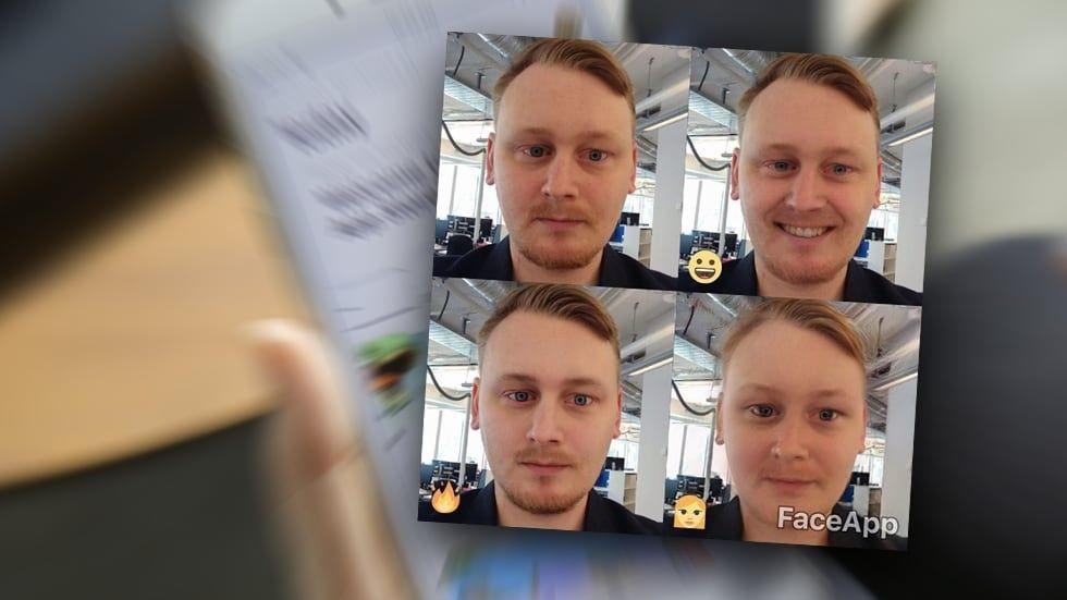 Kritik mot Faceapp