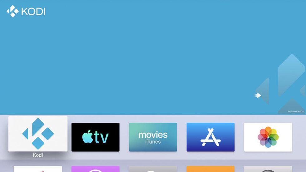 Kodi på Apple TV