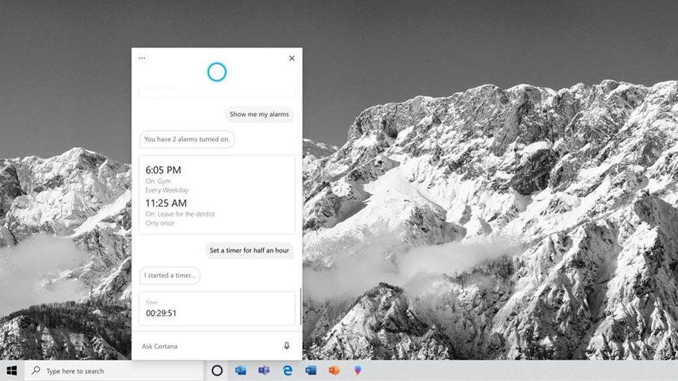 Nya Cortana i Windows Insider