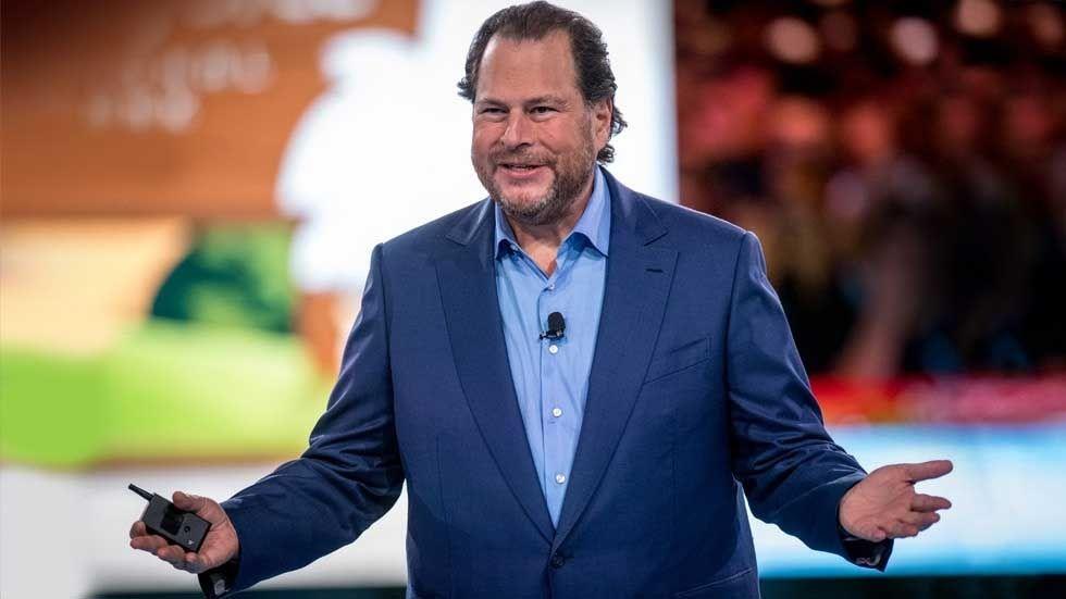 Salesforces vd Marc Benioff