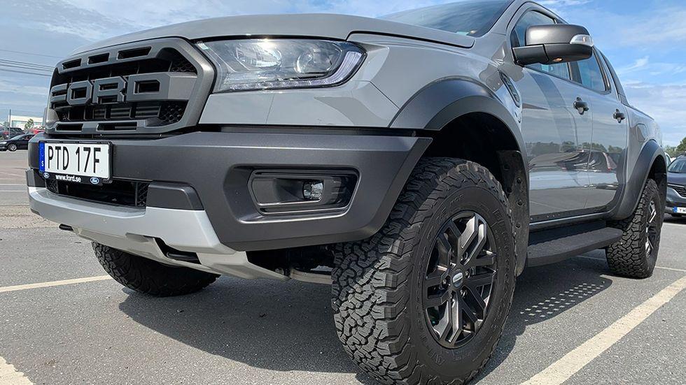 Test Ford Ranger Raptor
