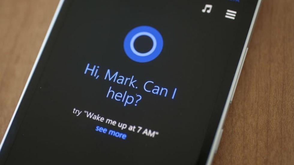 Microsoft Cortana avlyssnas