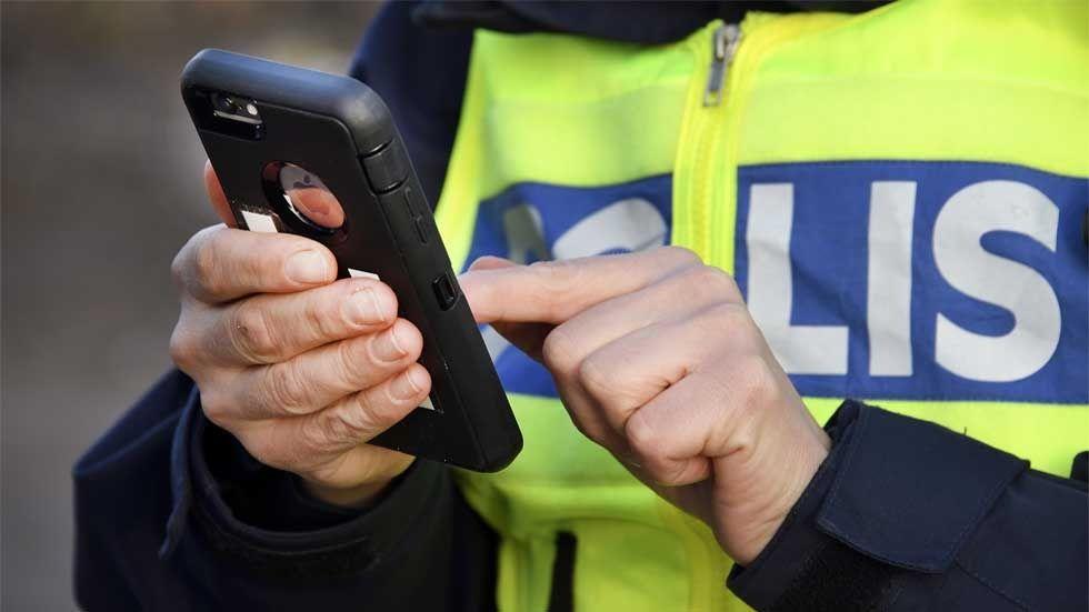 polisen mobila appar