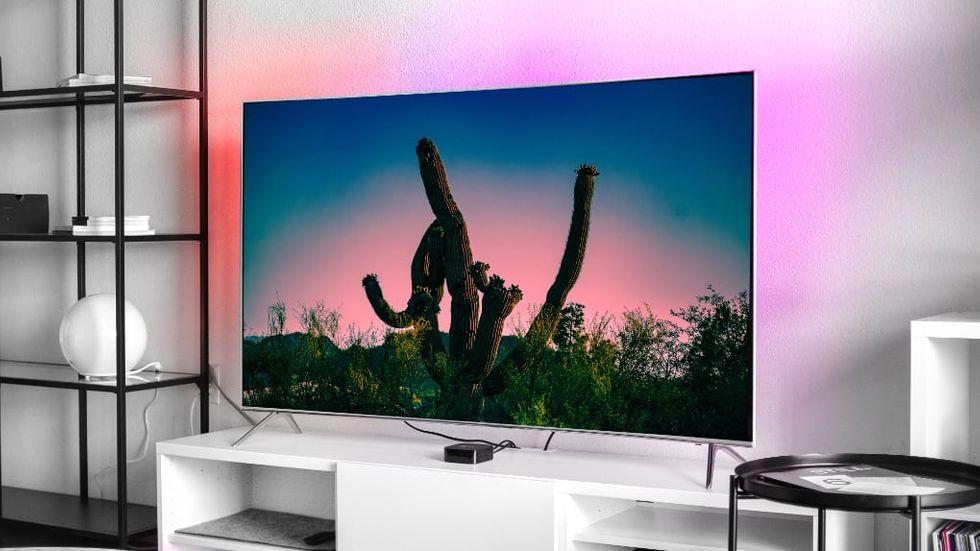 Lifx Z TV - ljus bakom tv