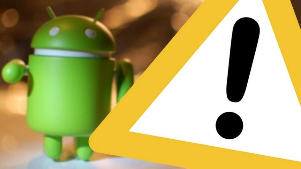 Android-varning
