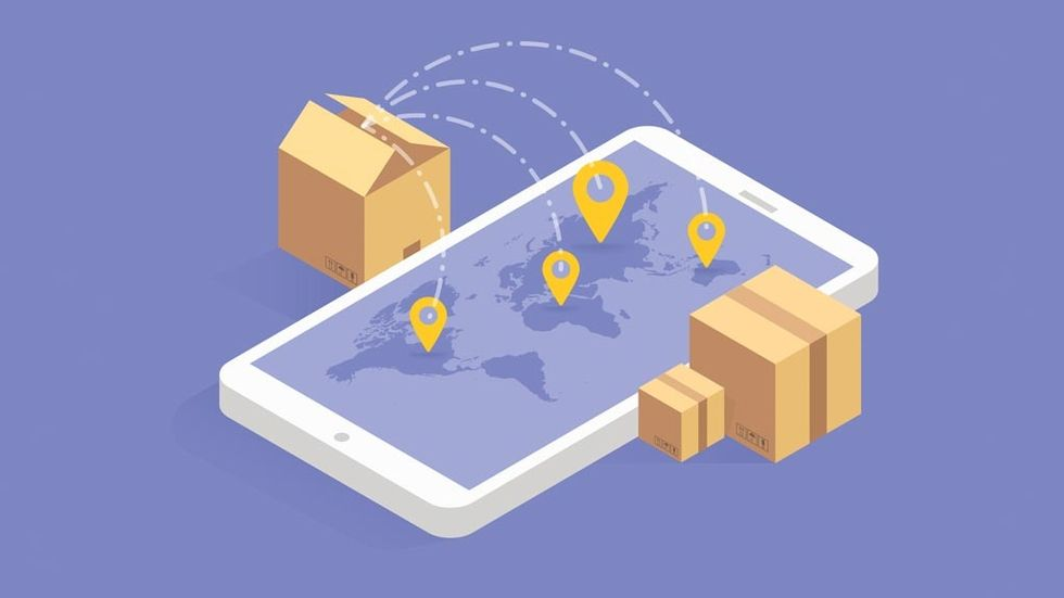 Shopping online utomlands