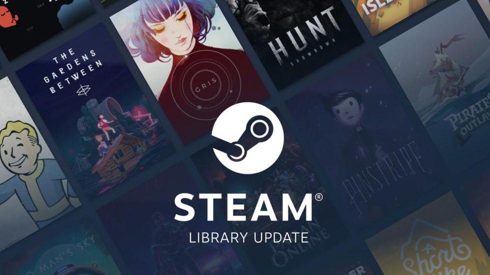 Steam library update