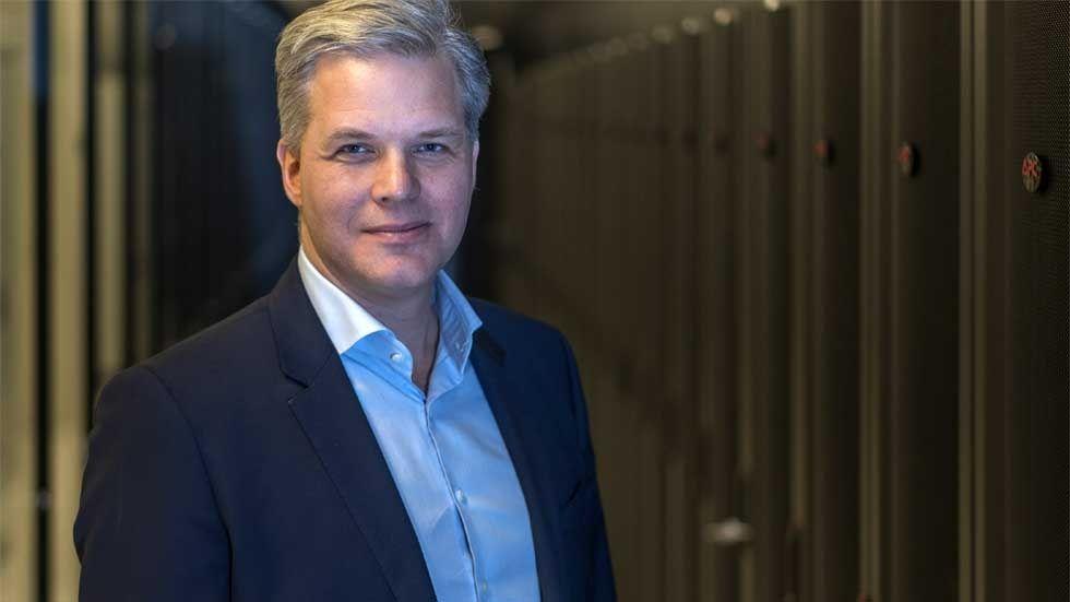 Alexander Kehrer, nordisk sälj- och marknadschef på Interxion