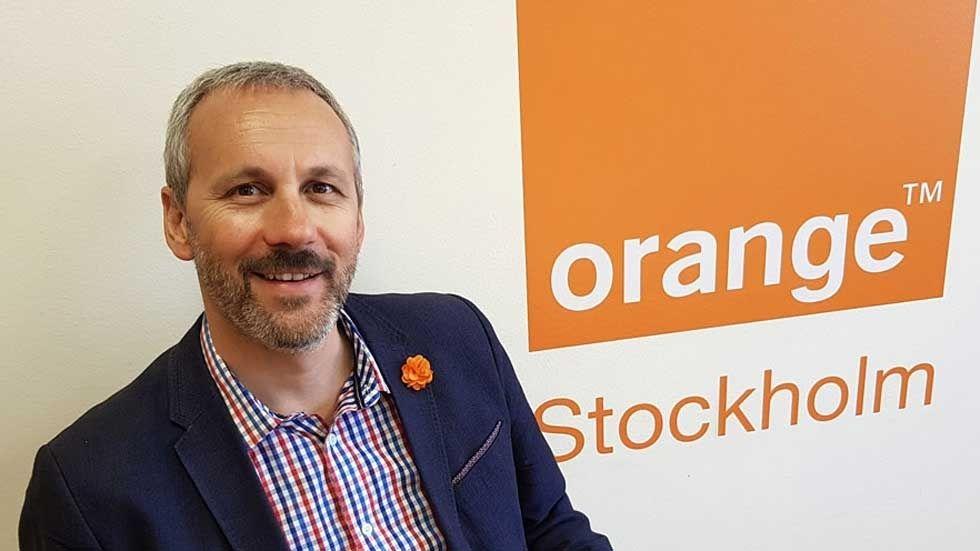 Simon Ranyard, nordisk chef för Orange Business Services.