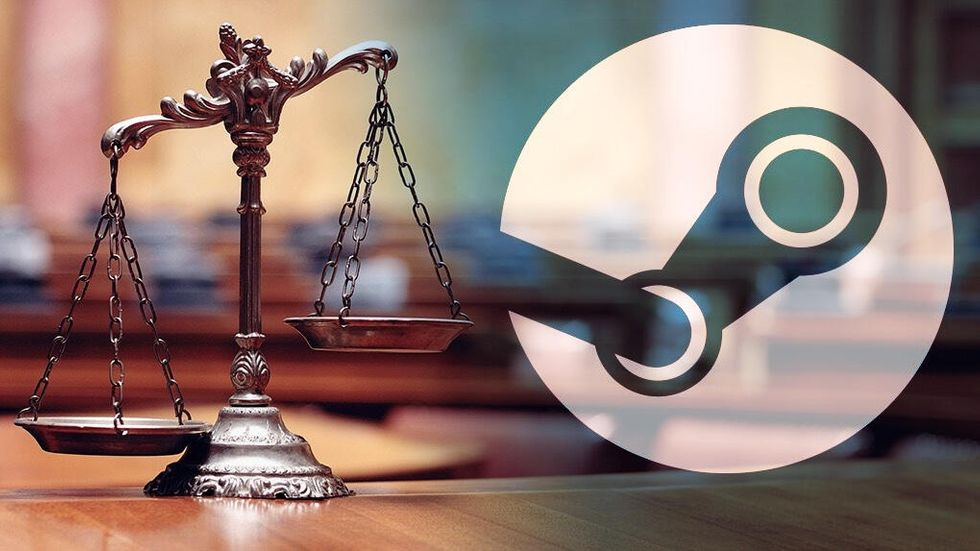 Steam i domstol