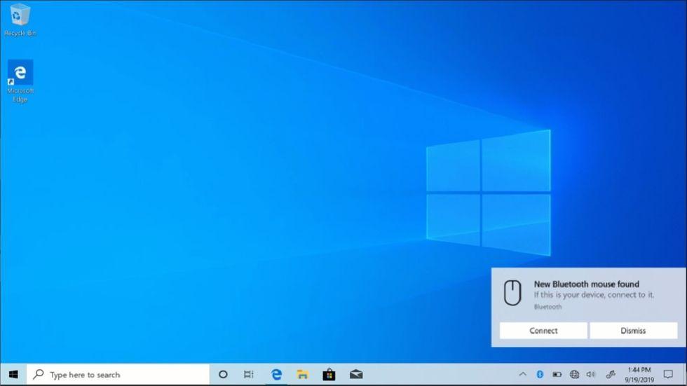 Windows 10 Insider Swift Pair ny