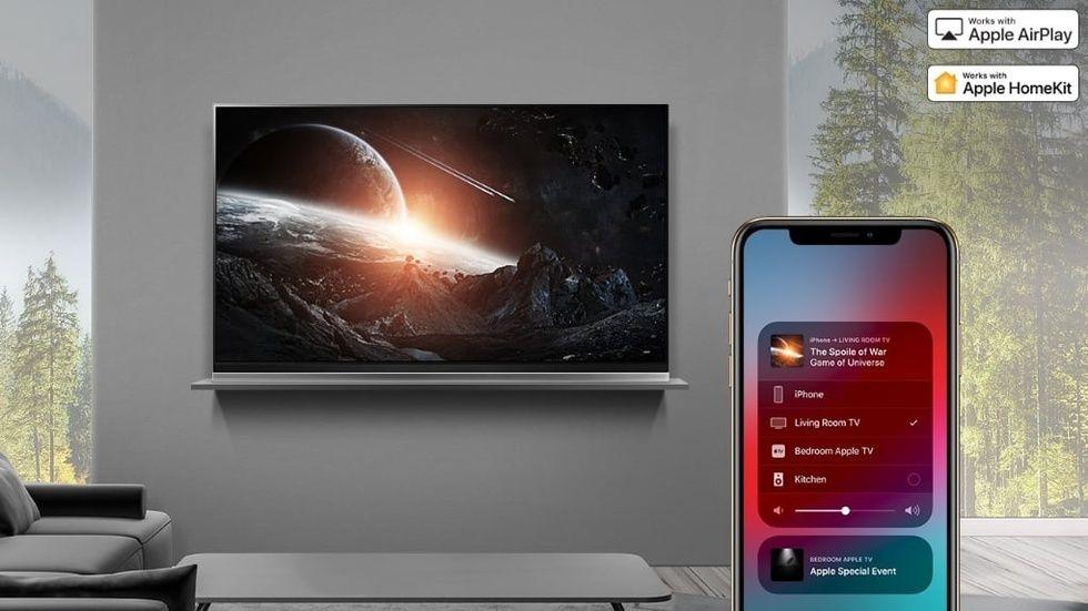 LG Airplay 2 Homekit