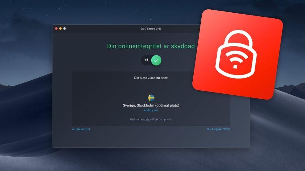 Test AVG vpn för Mac