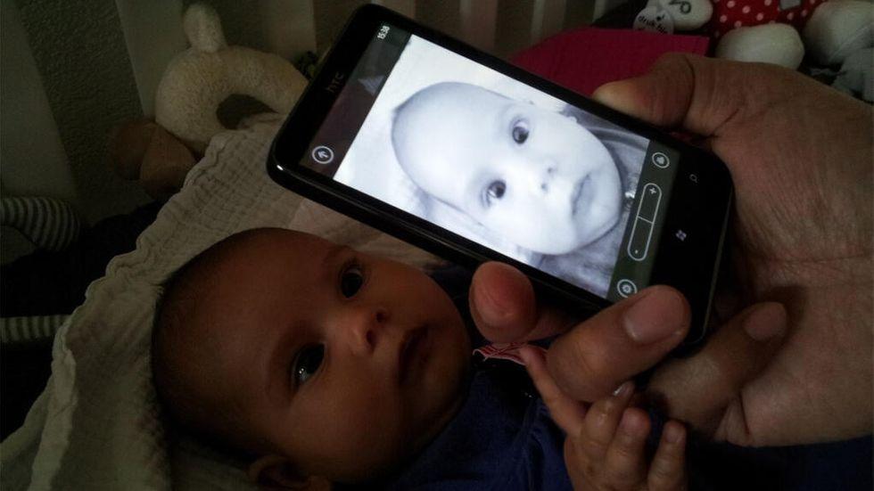 Fotografera spädbarn
