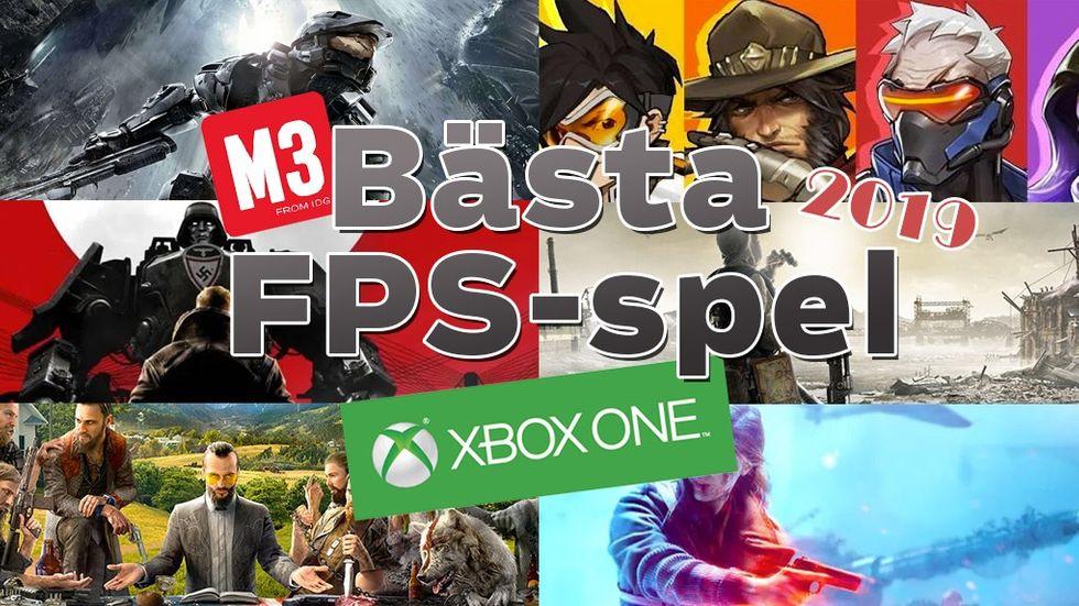 bästa fps-spel xbox