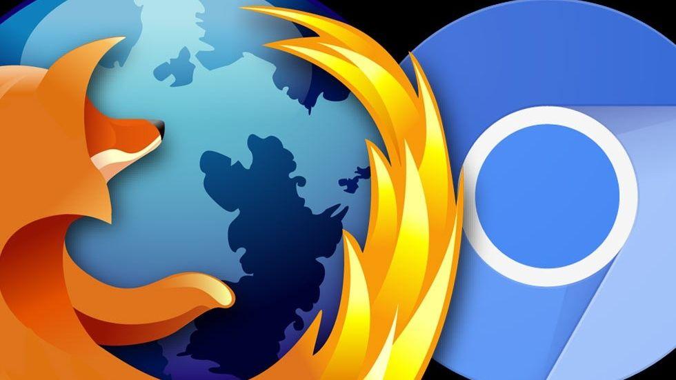 Firefox och Chrome