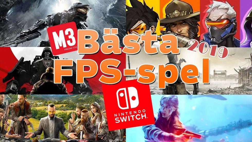 Bästa fps-spel Nintendo Switch