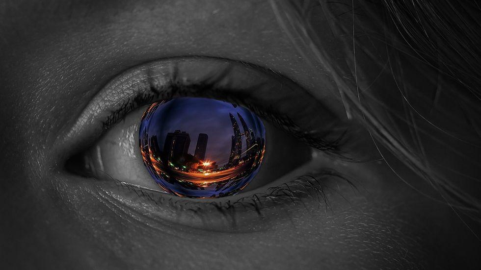 Ögonreflektion