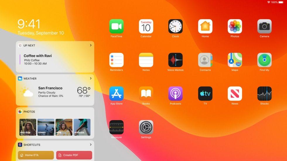 Ipad OS 13.2