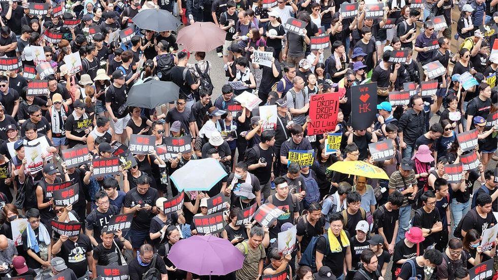 Hong Kong-protest