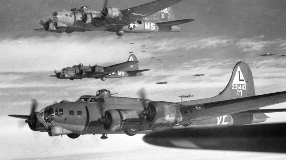 Amerikanska bombflygplan från andra världskriget