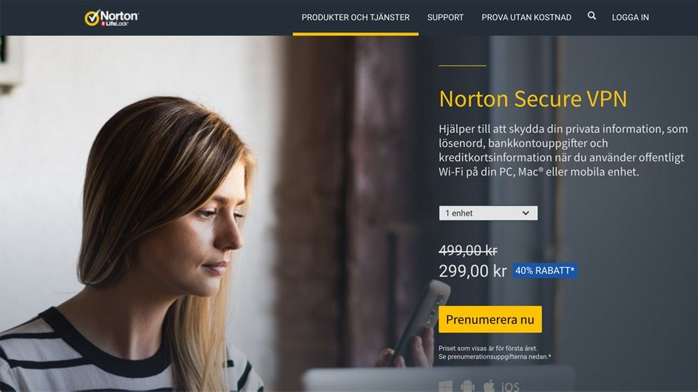 Norton Secure vpn