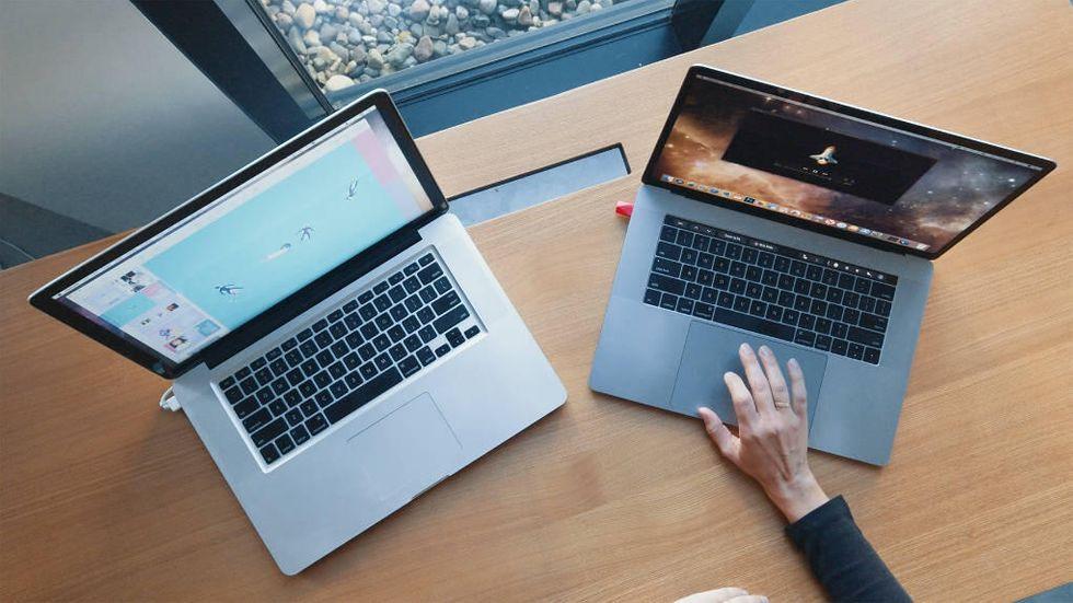 Luna Display med Mac