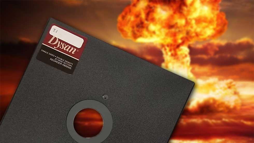 kärnvapen floppy diskett