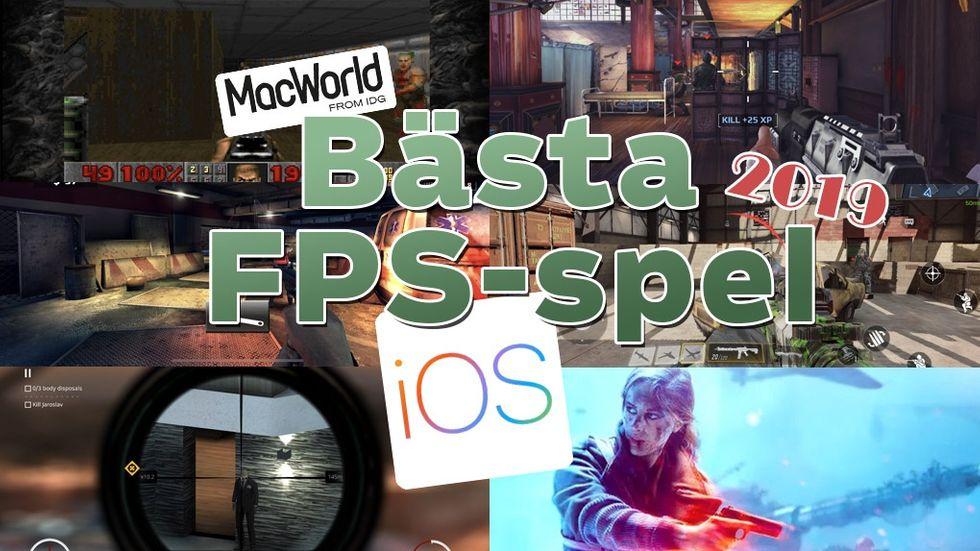 Bästa fps-spel Iphone IOS