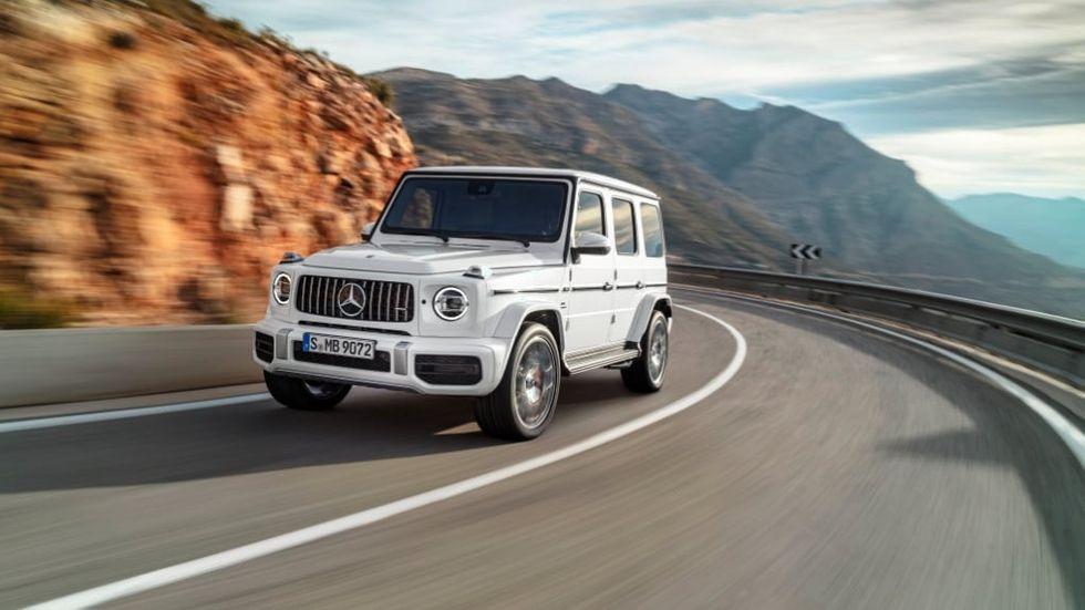 Mercedes G-klass kommer som elbil