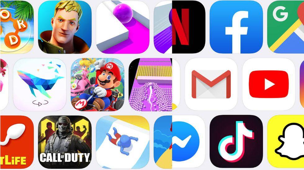 App Store topplista 2019