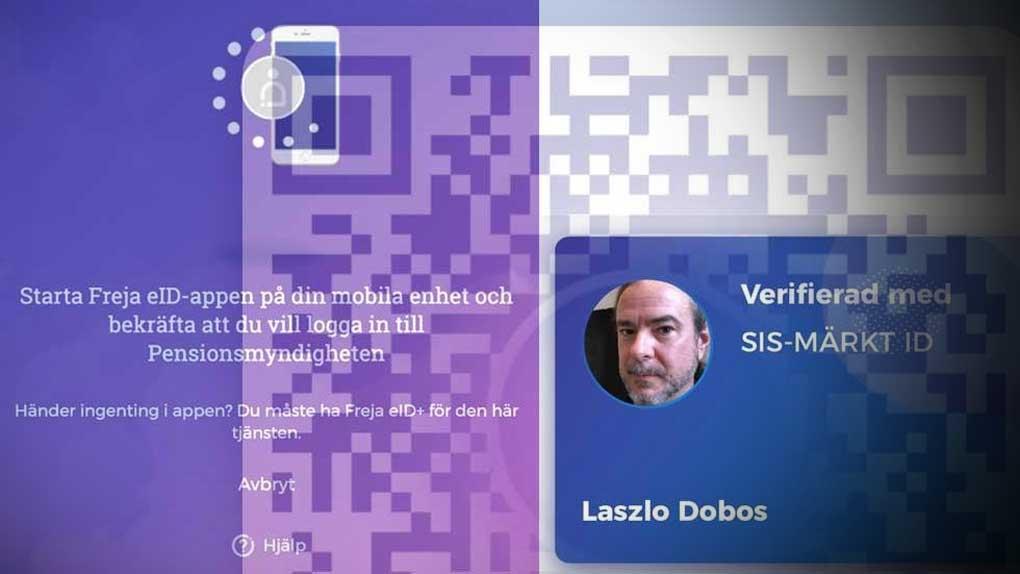Bank-id-utmanaren Freja lanserar tjänstelegitimation