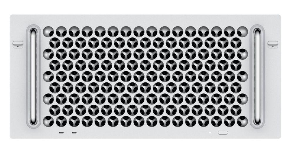 Rackmonterad modell av Mac Pro