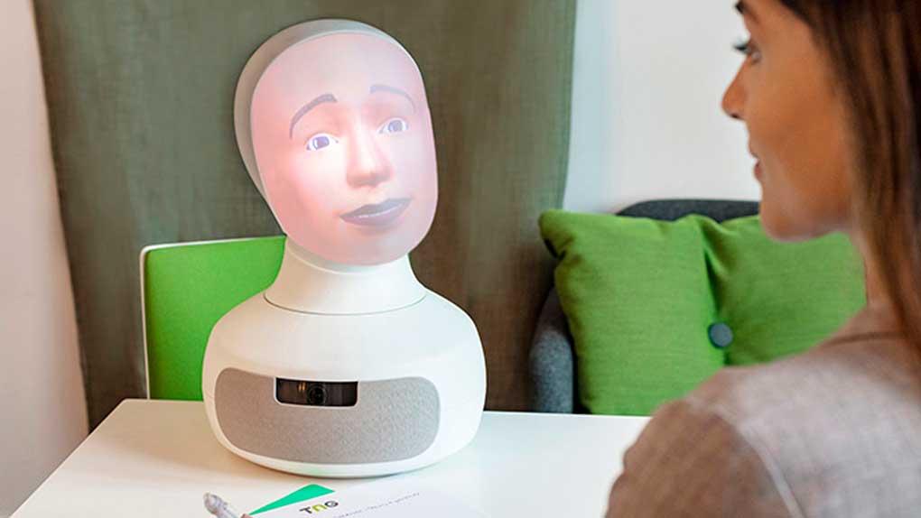 Fackförbundet Vision rekryterar med AI-robot