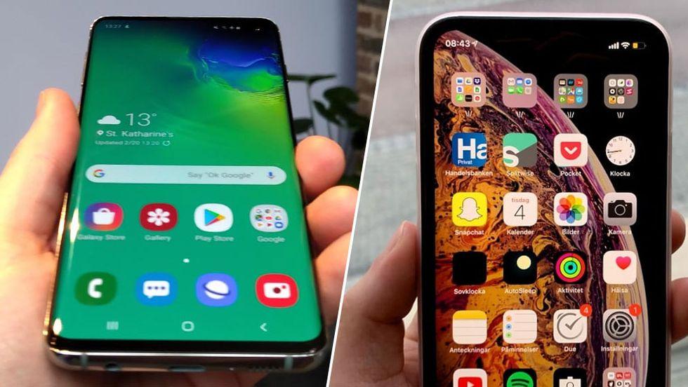 Bäst säljande smartphones i världen