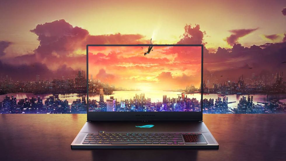 Laptop med Nvidias nya Geforce-chipp