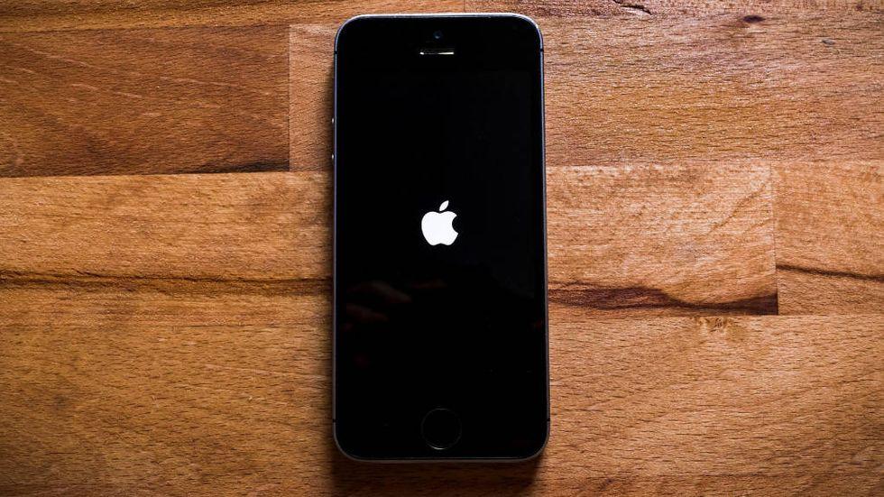 Iphone startar