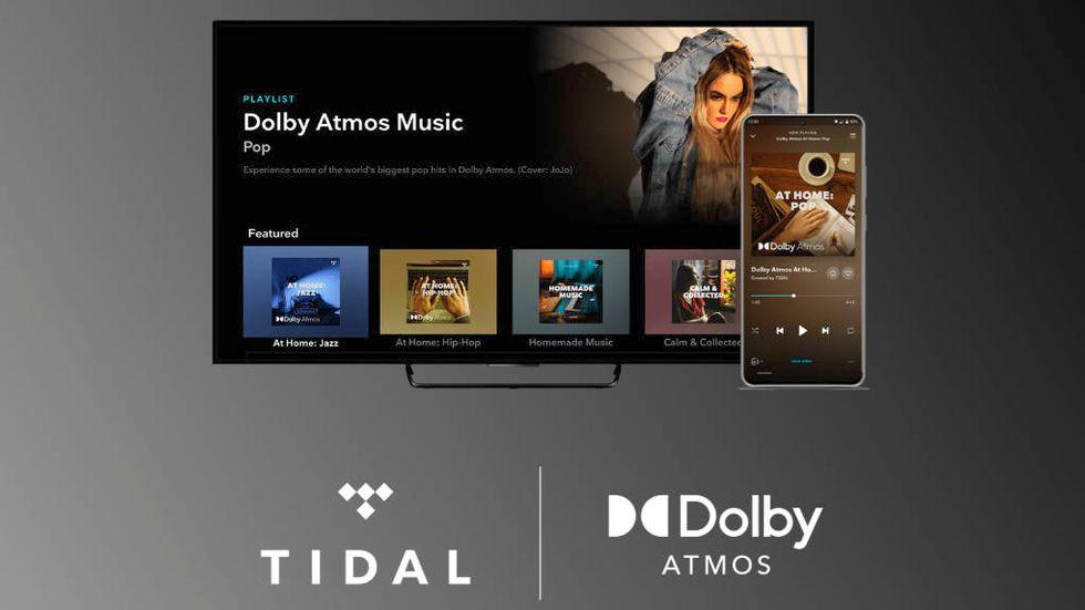 Tidal med Dolby Atmos