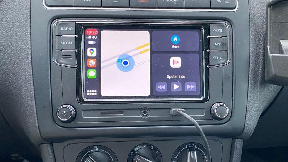 Få trådlös Carplay test