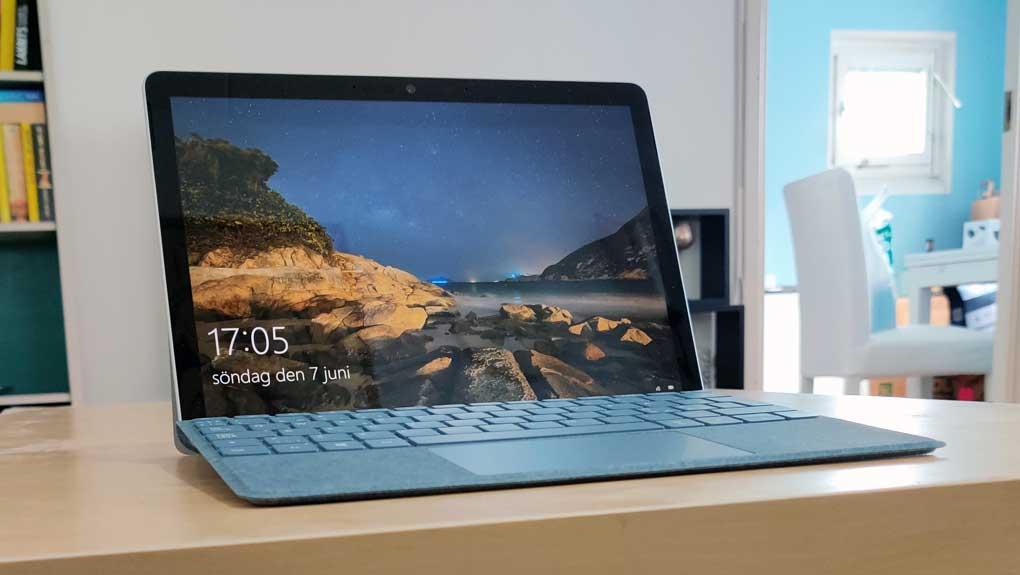 Microsoft Surface Go 2 uppdatering