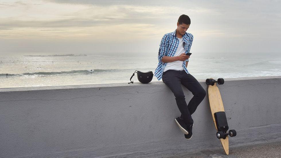 Test av elektriska Skateboards/Longboards